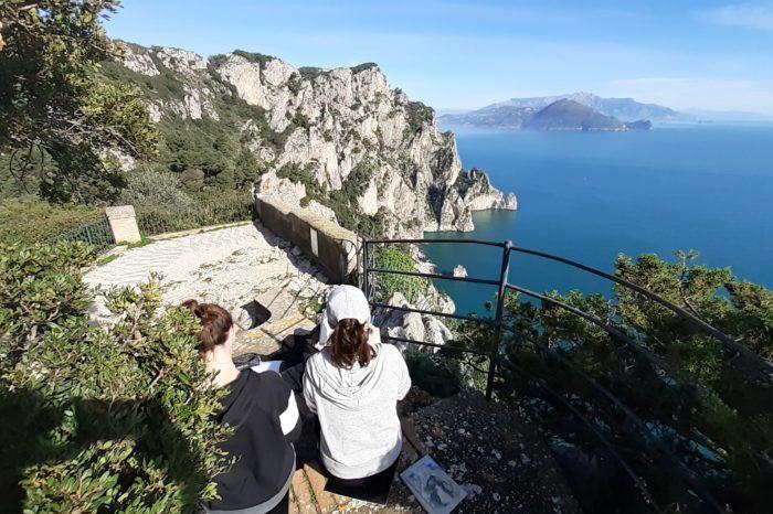 Single Session Art Experience in Capri